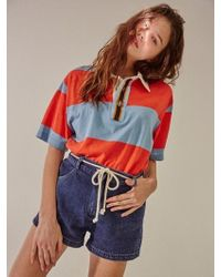 W Concept - Rope Tied Denim Shorts - Lyst
