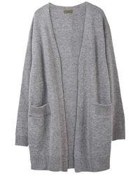 MADGOAT - Cashmere Robe Cardigan_gray - Lyst