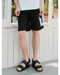 BONNIE&BLANCHE - Black Multi Pocket Wide Shorts - Lyst