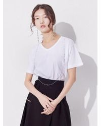 STUDIO QUISSEH - String Cotton Shirt - Lyst