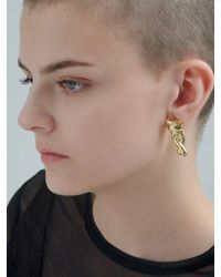 VIOLLINA - Another V Moving Fox Earring - Lyst