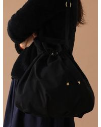 UNDERCONTROL STUDIO - Pot Bag - Wrinkle - Npc - Dark Black - Lyst