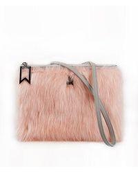 ANDSEEYOU - Adela Clutch Ha1251 Pink - Lyst