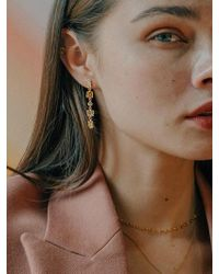 W Concept - Melting Drop Earring Ver2 - Lyst