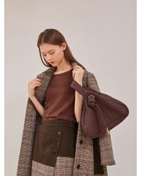 W Concept - Padding Triangle Bag - Lyst