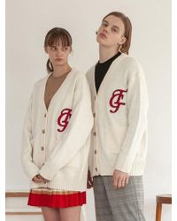 TARGETTO - [unisex] Tgt Cardigan Ivory - Lyst