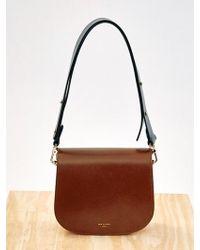 Low Classic - Colour Block Bag Brown - Lyst