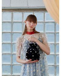 UNDER82 - Alice Velvet Jewellery Pouch Bag Mini A - Lyst
