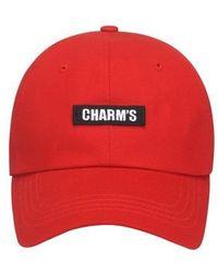 Charm's - [unisex] Basic Logo Cap Re - Lyst