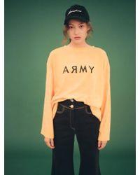 Fleamadonna - Army Printed Long Sleeve T-shirt Yellow - Lyst