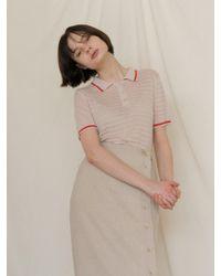 among - [us] A Pk Stripe Knitwear - Lyst