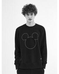 COLLABOTORY - [unisex] Three Circles Micky Mouse Sweatshirt - Lyst