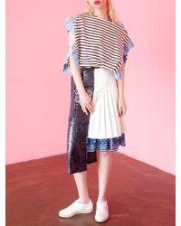 Fleamadonna - 17ss Spangle Pleats Skirt - Lyst