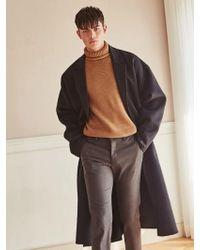 LIUNICK - Oversized Handmade Wool Coat_black - Lyst