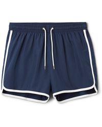 Weekday - Tan Swim Shorts - Lyst