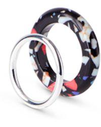 Weekday - Apollo Ring Set - Lyst