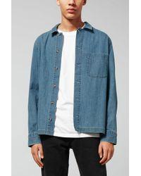 Weekday | Century Shirt Iso Blu | Lyst