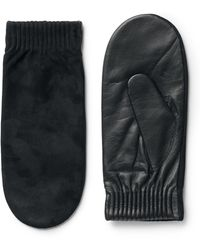 Weekday - Perfect Leather Mittens - Lyst