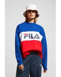Fila - Leah Crew Sweatshirt - Lyst