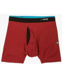 883f70c46ca833 Stance Clippers Underwear in Red for Men - Lyst