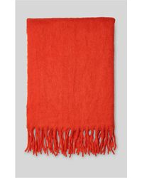 Whistles - Open Weave Blanket Scarf - Lyst