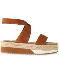 Whistles - Sayes Espadrille Sandal - Lyst