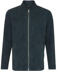Whistles - Suede Overshirt - Lyst