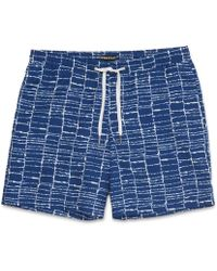 Whistles - Dot Grid Swimming Shorts - Lyst