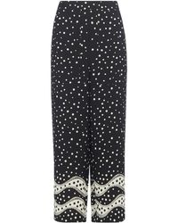 Whistles - Mix And Match Spot Trouser - Lyst
