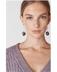 Whistles - Geometric Drop Resin Earring - Lyst