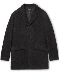 Whistles - Textured Herringbone Coat - Lyst
