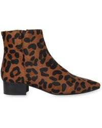 Whistles | Berwick Soft Leopard Boot | Lyst