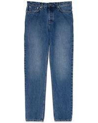 Whistles - Mid Wash Vintage Reg Fit Jeans - Lyst