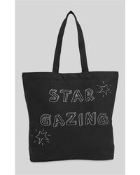 Whistles - Star Gazing Canvas Tote - Lyst