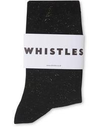 Whistles - Sparkle Knit Socks - Lyst