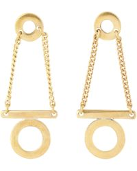 Whistles - Made Circle And Bar Earring - Lyst