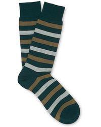 Whistles - Striped Merino Socks - Lyst