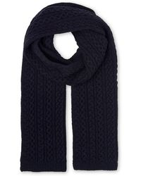 Whistles - Cable Knit Scarf - Lyst