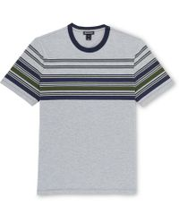 Whistles - Placement Stripe T-shirt - Lyst