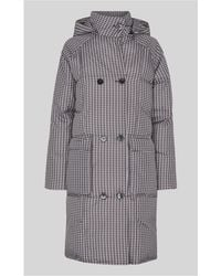 Whistles - Check Longline Puffer - Lyst