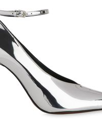 Whistles - Compton Stud Ankle Strap Pump - Lyst