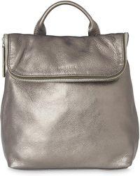 Whistles - Metallic Mini Verity Backpack - Lyst