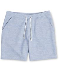 Whistles - Marl Sweat Shorts - Lyst