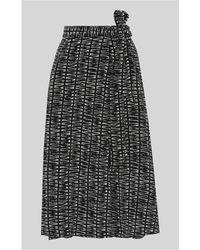 Whistles - Sahara Print Avie Wrap Skirt - Lyst