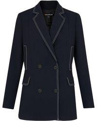 Whistles - Kara Contrast Jacket - Lyst