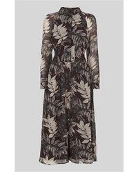 Whistles - Claris Floral Print Dress - Lyst