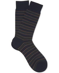 Whistles - Striped Merino Socks - Lyst
