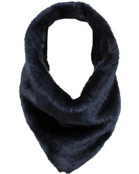 Wilsons Leather - Triangle Faux-fur Infinity Scarf - Lyst