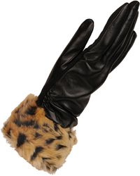 Wilsons Leather - Touch Point Glove W/ Faux Fur Cuff And Thinsulate Lining - Lyst