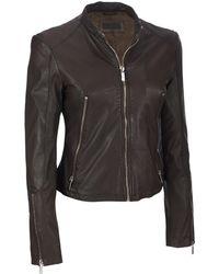Wilsons Leather - Designer Brand Classic Genuine Leather Scuba Jacket - Lyst